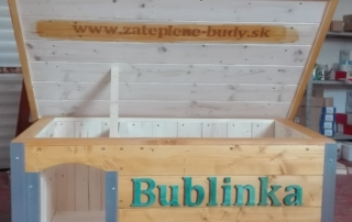 Zateplená psia búda - Bublinka